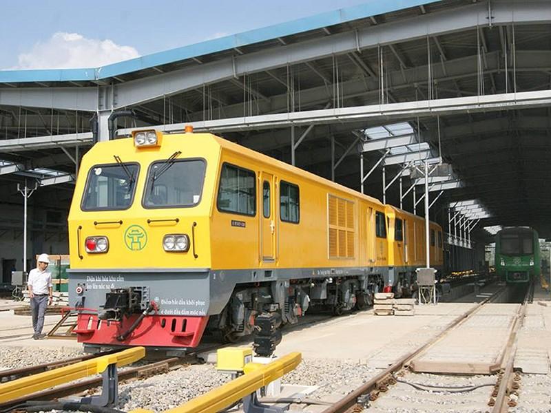 Metro Cát Linh-Hà Đông vẫn bộn bề trước giờ chạy thử - ảnh 1