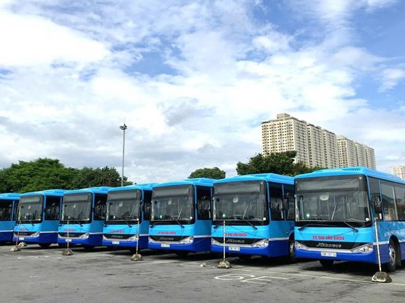Hà Nội: Hàng loạt xe buýt mới, gắn 3 camera - ảnh 1