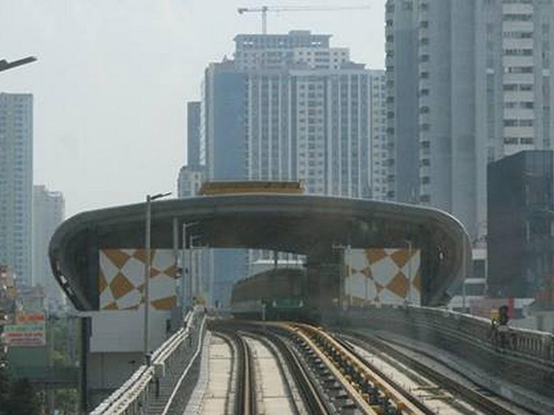 Hôm nay, chạy thử 13 đoàn tàu metro Cát Linh - ảnh 1