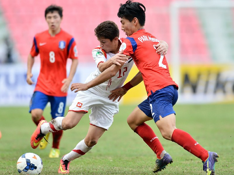 Nhật và Hàn Quốc 'hẹn hò' nhau ở chung kết U-16 châu Á - ảnh 1