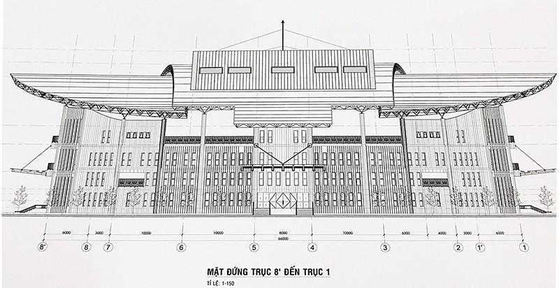 Nhà hát hơn 200 tỉ đồng nhưng lại lợp… tôn - ảnh 1