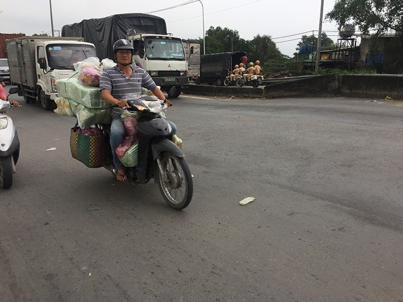 Đoạn nguy hiểm nhất trên cao tốc Trung Lương - ảnh 1