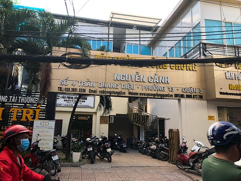 VPCC Nguyễn Cảnh nói gì về việc công chứng ngoài trụ sở? - ảnh 1