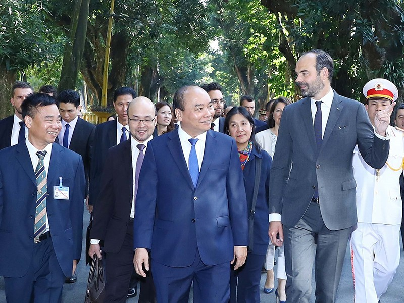 Thủ tướng Việt Nam, Pháp nhất trí thúc đẩy hợp tác kinh tế - ảnh 1