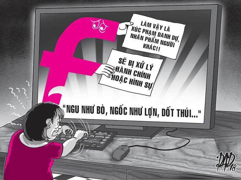 Bàn cách chống các 'hội chửi' trên mạng - ảnh 1
