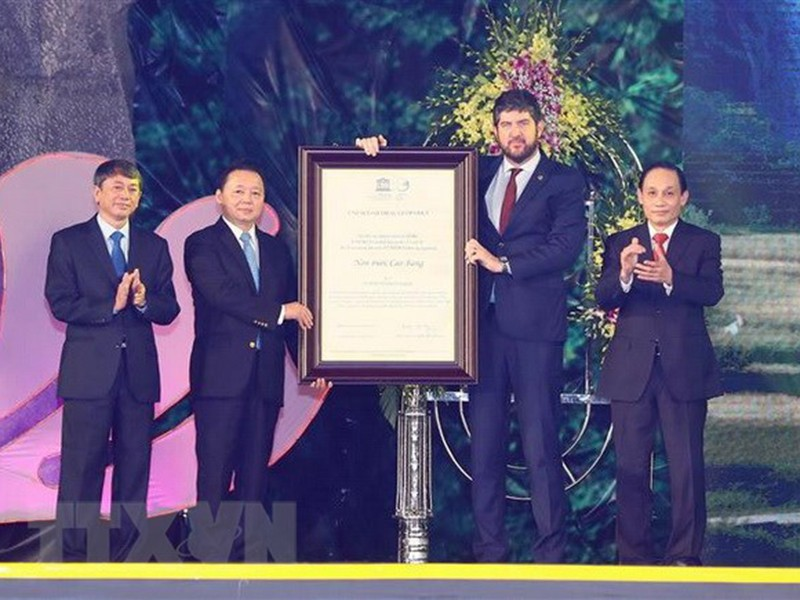 Việt Nam chính thức có công viên địa chất toàn cầu thứ 2 - ảnh 1
