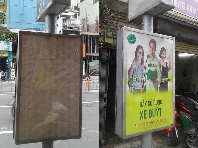 Trạm xe buýt thiếu thông tin - ảnh 1