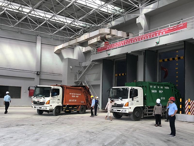 Cần Thơ khánh thành nhà máy xử lý rác ngàn tỉ - ảnh 1