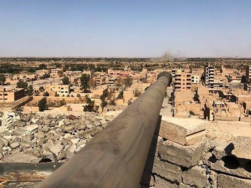 Liên minh Syria phá hủy nhà thờ Hồi giáo của IS - ảnh 1
