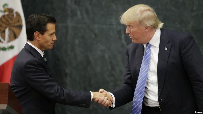 Tổng thống Trump lên lịch gặp lãnh đạo Anh và Mexico - ảnh 2
