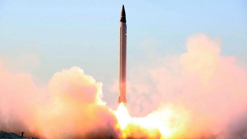 Mỹ phát hiện Iran phóng tên lửa đạn đạo - ảnh 1