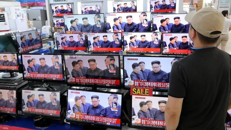Bộ trưởng Nhật: Bom Triều Tiên mạnh hơn tiên liệu - ảnh 1