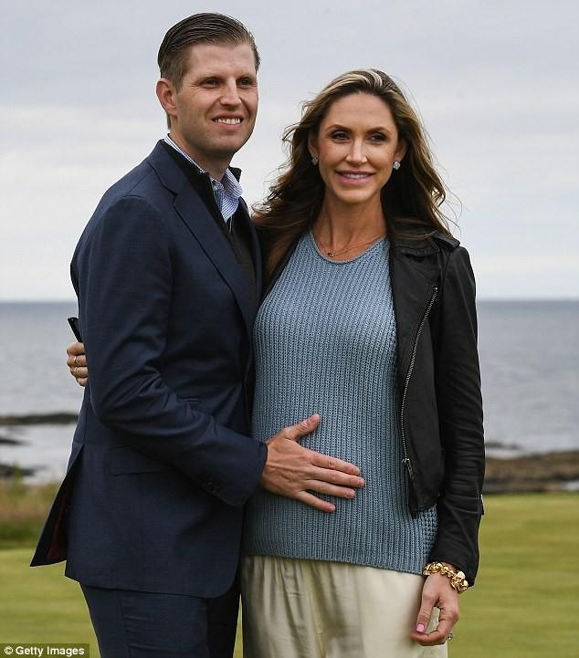 Con trai ông Trump có quý tử đầu lòng - ảnh 2