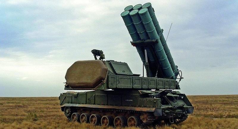 Hé lộ dàn phòng không Syria chặn tên lửa Anh-Pháp-Mỹ - ảnh 1