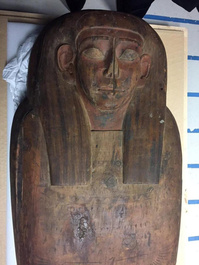 Phát hiện xác ướp 2.500 tuổi trong quan tài 'ngỡ rỗng' - ảnh 2