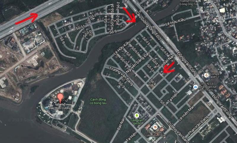 TP.HCM: Đề xuất xây cầu qua đảo Kim Cương - ảnh 1