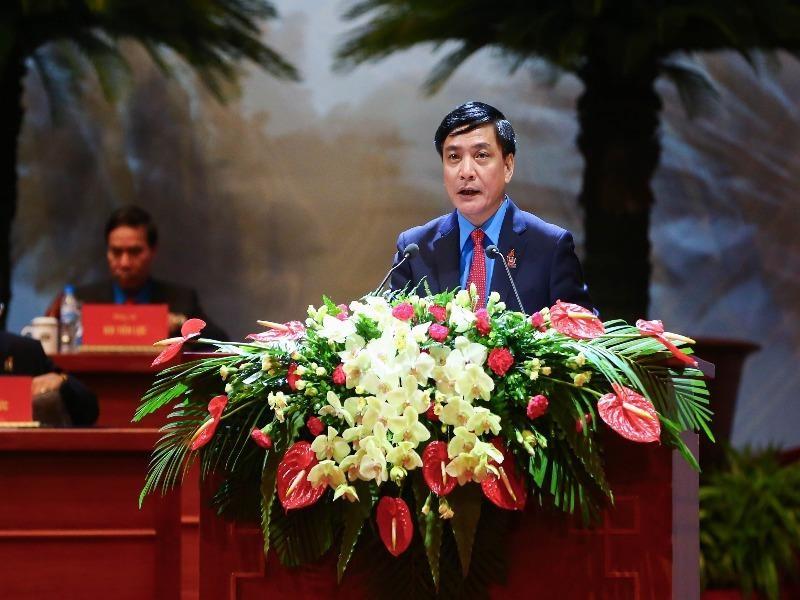 Ông Bùi Văn Cường tái đắc cử Chủ tịch Tổng LĐLĐ VN  - ảnh 1