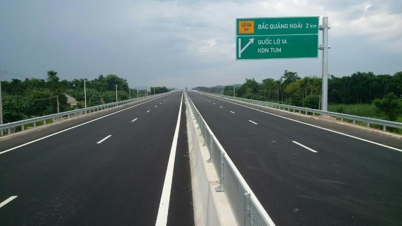Cao tốc Đà Nẵng-Quảng Ngãi lại lún: VEC nói gì? - ảnh 1