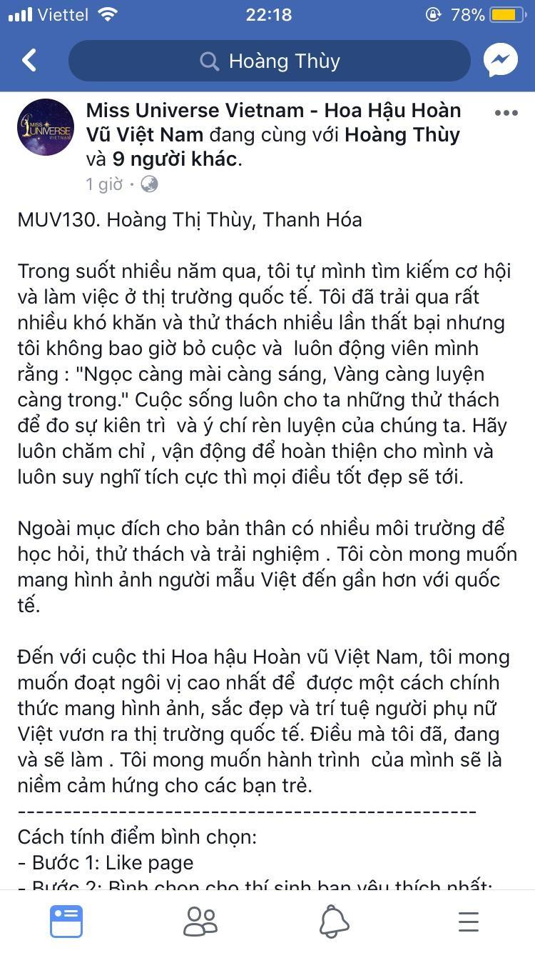 Hoàng Thùy bất ngờ thi Hoa hậu hoàn vũ Việt Nam 2017 - ảnh 2