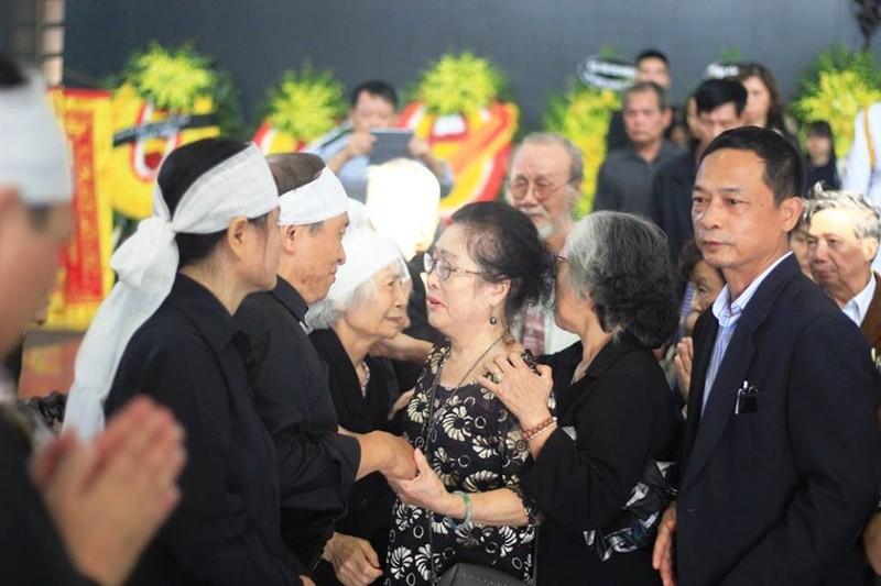 Lễ tang cụ Hoàng Thị Minh Hồ  theo nghi thức cấp cao - ảnh 5