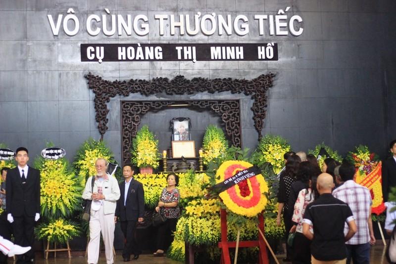 Lễ tang cụ Hoàng Thị Minh Hồ  theo nghi thức cấp cao - ảnh 1