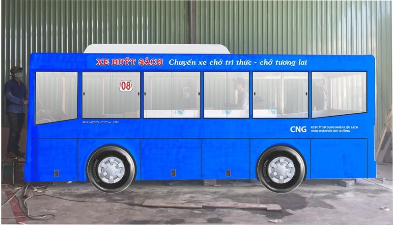 TP.HCM sắp khai trương mô hình xe buýt sách - ảnh 3