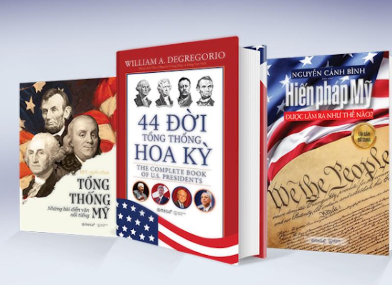 Ra mắt sách 44 đời Tổng thống Hoa Kỳ  - ảnh 1