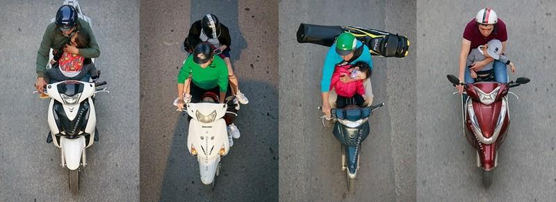 Bộ ảnh ngàn like siêu dễ thương về cuộc sống trên xe máy - ảnh 7