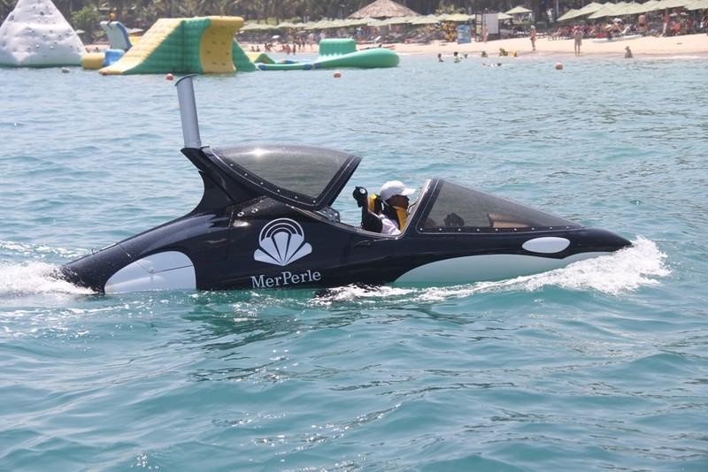 'Cưỡi' cá mập, cá heo tuyệt đẹp trên biển Nha Trang     - ảnh 10