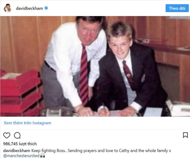 Huyền thoại Sir Alex Ferguson nguy kịch,cả thế giới cầu nguyện - ảnh 5