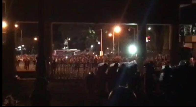 Nhóm người quá khích lại phá trụ sở tỉnh Bình Thuận - ảnh 2