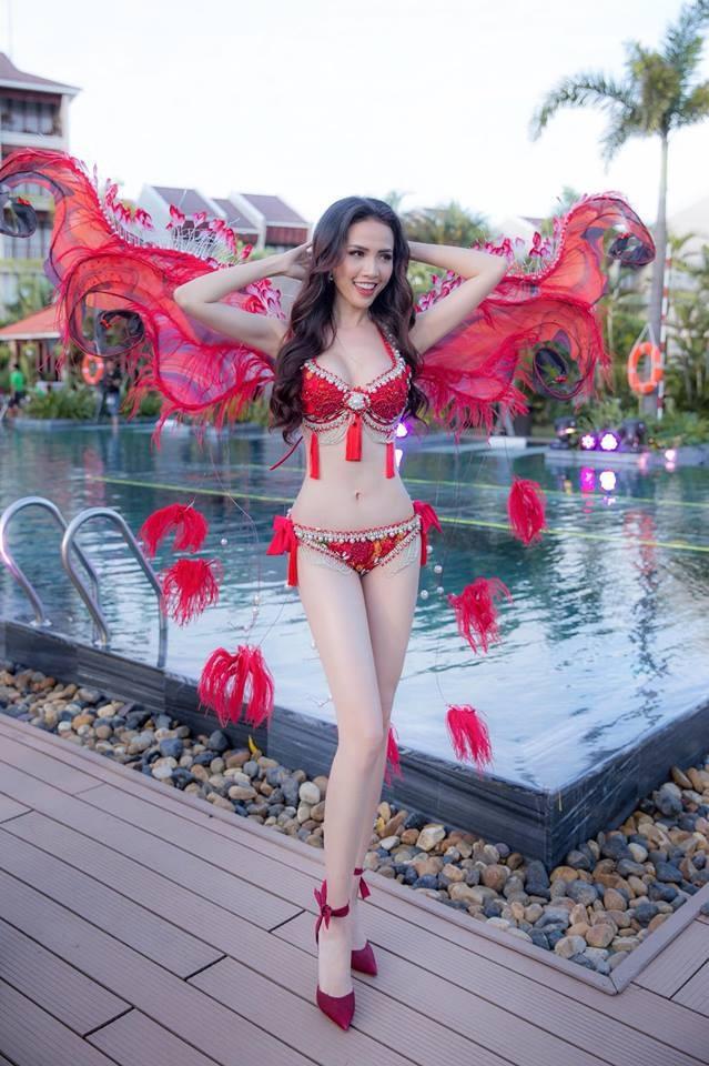 Ngắm Phan Thị Mơ - tân Hoa hậu Đại sứ du lịch thế giới  - ảnh 2
