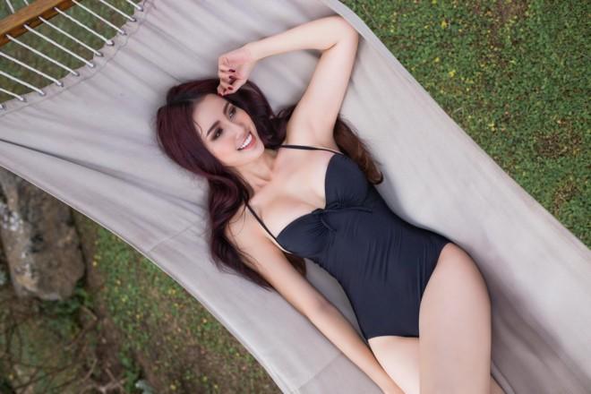 Ngắm Phan Thị Mơ - tân Hoa hậu Đại sứ du lịch thế giới  - ảnh 9