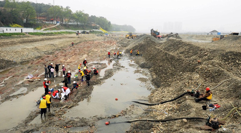 Tìm thấy kho báu nơi 1.000 con thuyền chở tiền bị chìm - ảnh 1