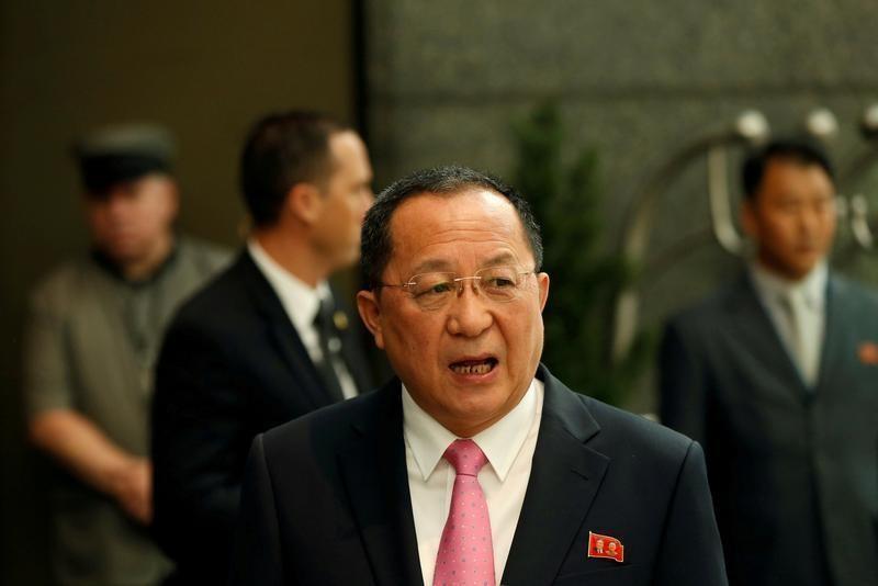Ngoại trưởng Triều Tiên tố Mỹ châm ngòi chiến tranh - ảnh 1