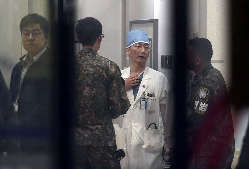 Lính Triều Tiên đào tẩu bị bắn ở biên giới - ảnh 1