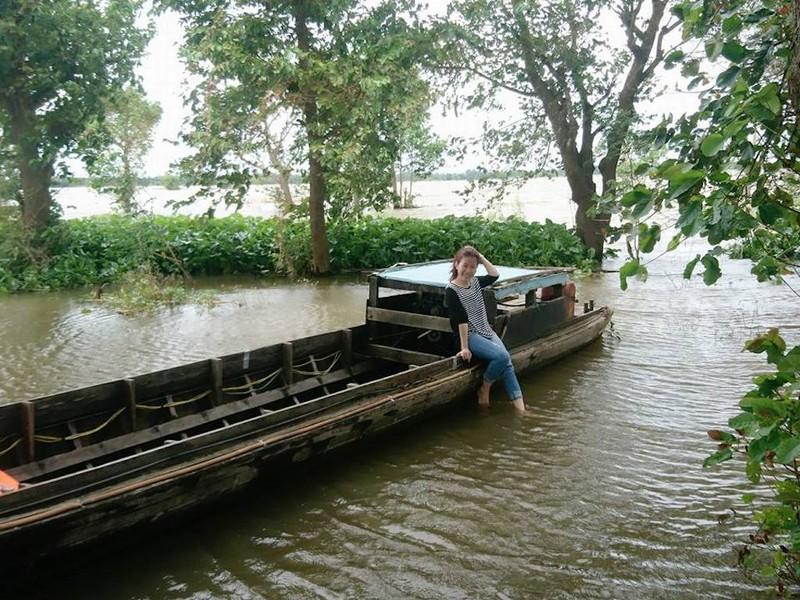 Về An Giang ăn cá linh trên đồng nước nổi - ảnh 6