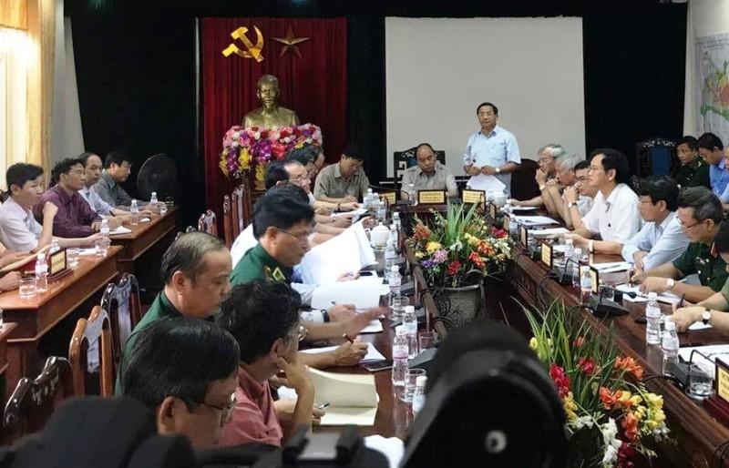 Thủ tướng: Không được để dân đói sau bão   - ảnh 2