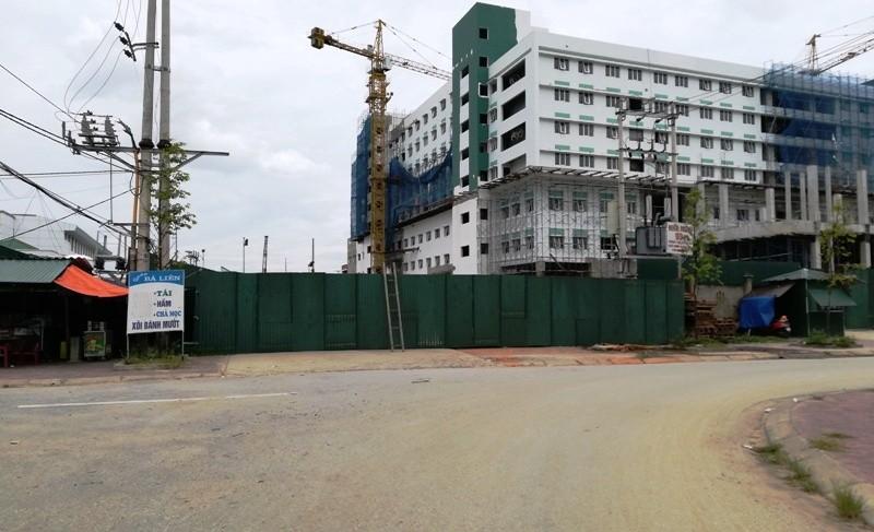Vụ cắt đường xây bệnh viện cổ phần: Kiến nghị mở lại đường  - ảnh 2