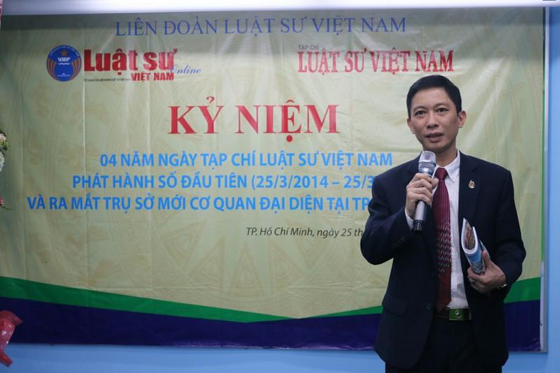 Tạp chí Luật Sư Việt Nam ra mắt trụ sở mới - ảnh 1