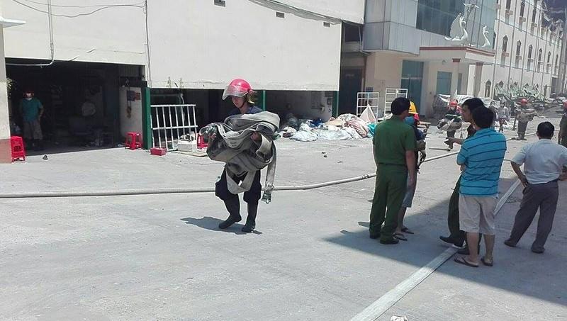 Lại cháy ở Công ty Kwong Lung - Meko ở Cần Thơ - ảnh 2