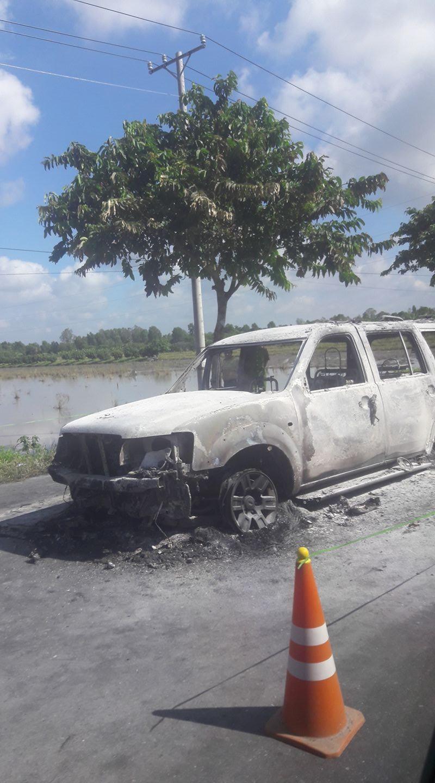 Vụ cháy xe ở Hậu Giang: Khởi tố vụ án giết người - ảnh 1