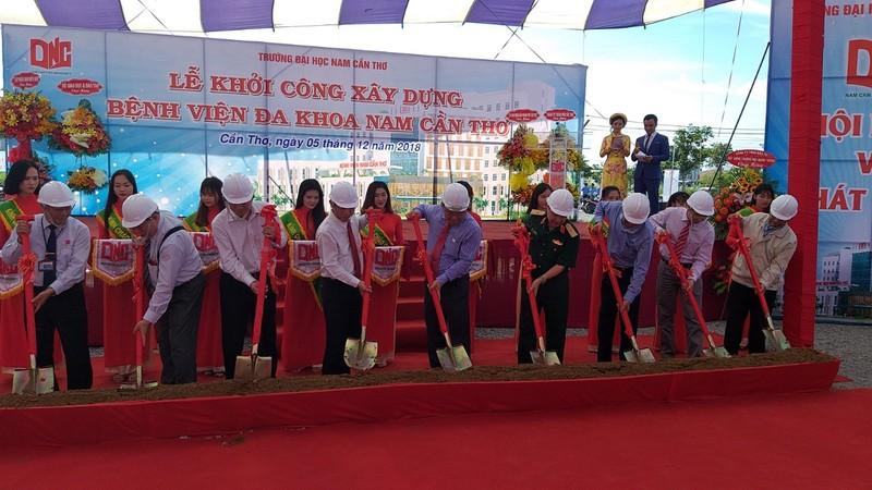 ĐH Nam Cần Thơ xây bệnh viện đa khoa 300 giường - ảnh 1