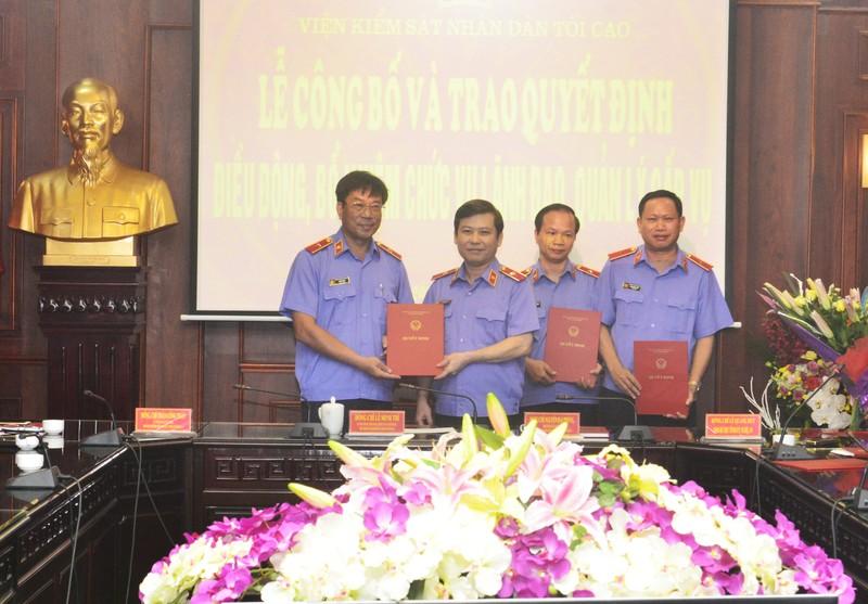 Viện trưởng VKS Bình Phước làm Vụ trưởng án an ninh  - ảnh 1
