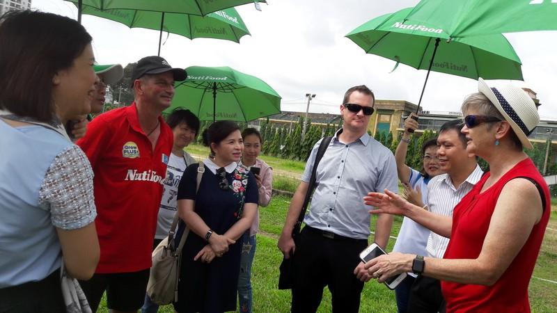 Học viện NutiFood hợp tác với giáo sư của Úc  - ảnh 1