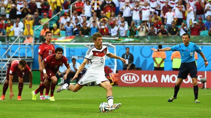 Quái kiệt Muller khao khát đi vào lịch sử cùng tuyển Đức