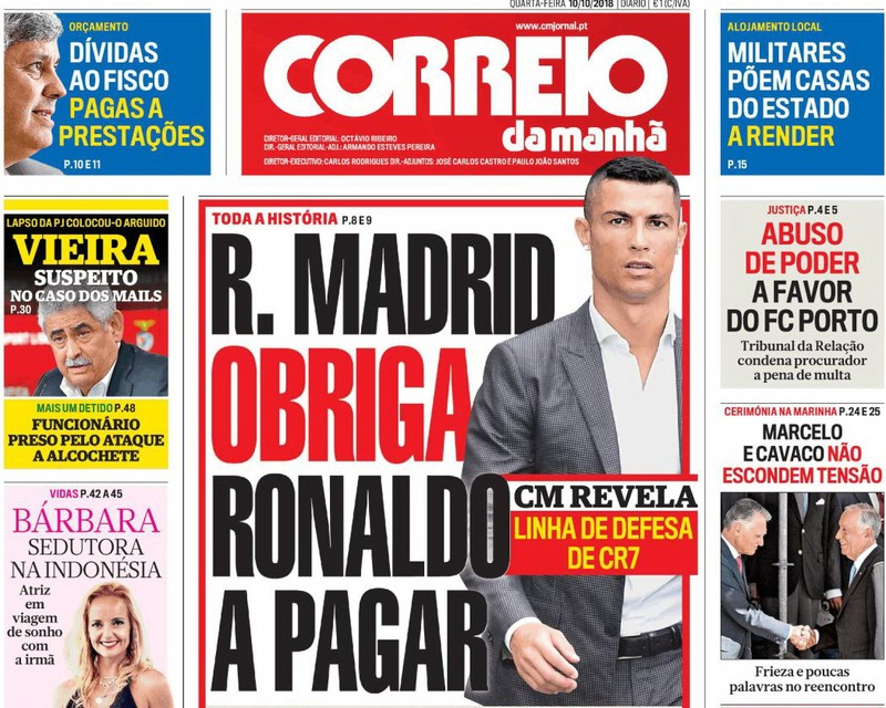 Real Madrid đòi kiện tờ báo trong vụ cáo buộc Ronaldo hiếp dâm - ảnh 2