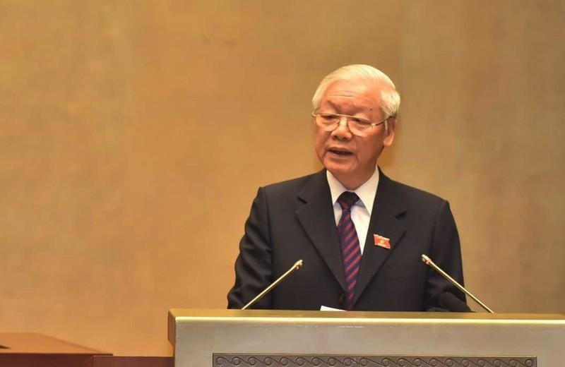 Chủ tịch nước Nguyễn Phú Trọng trình bày Hiệp định CPTPP ở QH