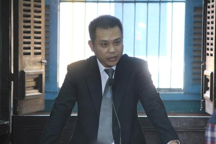 LS Nguyễn Kiều Hưng đặt câu hỏi bị cáo Minh