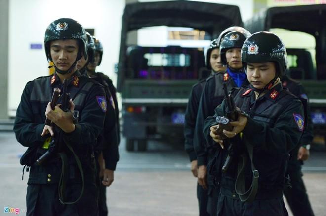 Công tác bảo vệ vận chuyển hàng đặc biệt của Nhà nước - ảnh 1